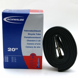 Inner tube 20 x 1 1/8 to 1.50 inch by Schwalbe - SV6, presta valve