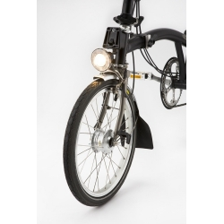 Brompton front dynamo lamp - halogen - Shimano fitting