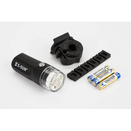 Brompton battery powered 3 LED front light S-SUN