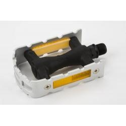 Brompton left hand pedal, non-folding, aluminium cage