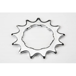 "Brompton 13T rear sprocket 2mm, BWR 6 speed, 3/32"" chain, Shimano"
