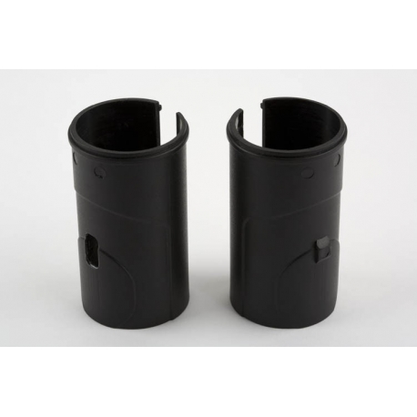 Brompton seat pillar sleeve set, pair, one with locating extrusion, one without, excludes adhesive