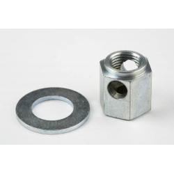 Brompton chain tensioner nut for 3 speed STURMEY ARCHER hub (steel shell)