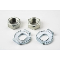 Brompton 3 speed axle nuts/washers for SRAM (Sachs) hub