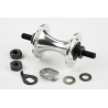 Brompton front hub, 28 hole - with fittings