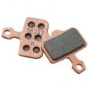 Avid Elixir replacement disc brake pads (organic) with alu back plate