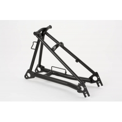 Brompton rear frame assembly MATT yellow