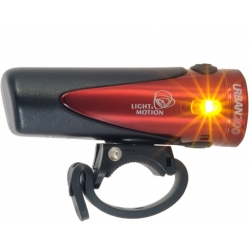 Urban 200 rechargeable front light - Ruby - from Light and Motion