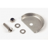 Brompton cable fender disc for bikes without mudguards