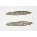 Brompton decal - for pre-2015 superlight