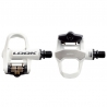 LOOK KEO 2 Max pedal with CroMo axle with KEO cleat - White