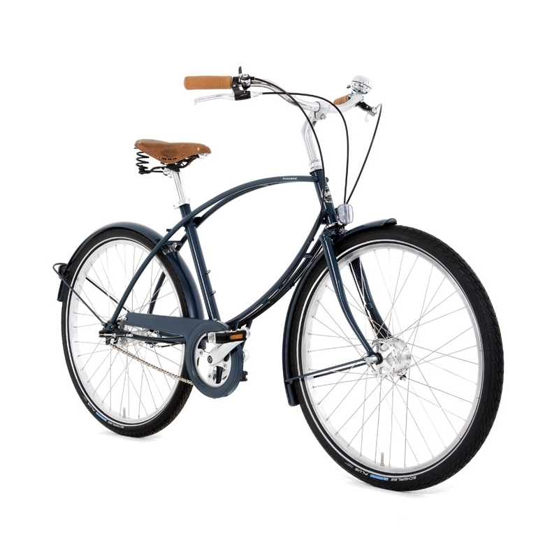 Pashley Parabike bicycle - Ash Green - 19 inch frame