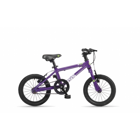 Frog 43 purple childs bike