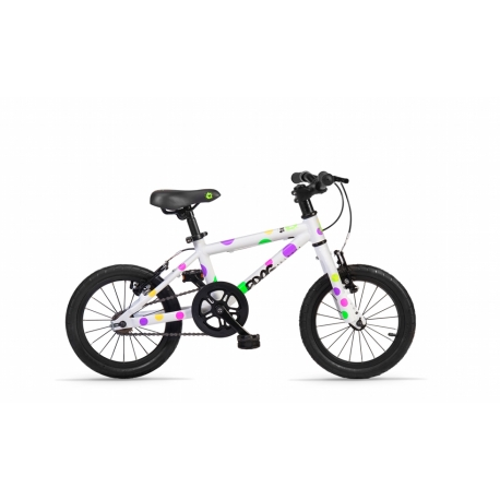 Frog 43 spotty childs bike