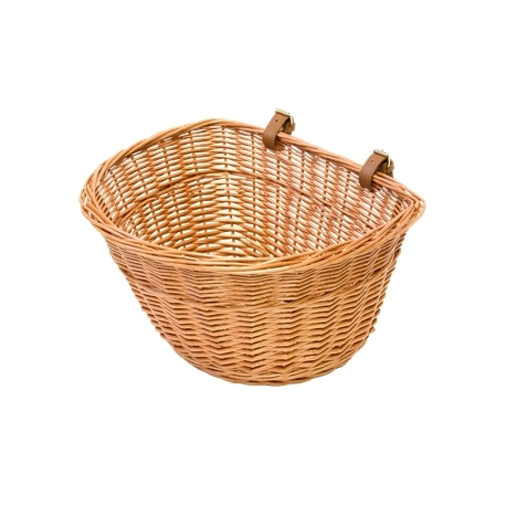 Pashley Poppy wicker basket - comes with support