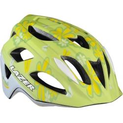 P'Nut flower green uni-size kids bike helmet