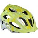 P'Nut flower green uni-size kids bike helmet by Lazer