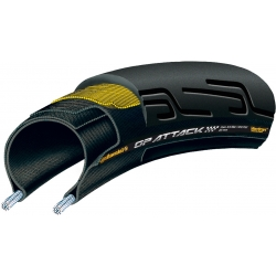 Grand Prix Attack II 700 x 22C Front Black Chili - Vectran Tyre