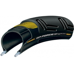 Grand Prix Force II 700 x 24C Rear Black Chili - Vectran tyre