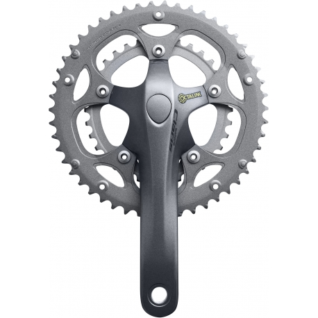 Shimano FC-2403 Claris Octalink triple chainset, 8-speed - 50 / 39 / 30T - 175 mm