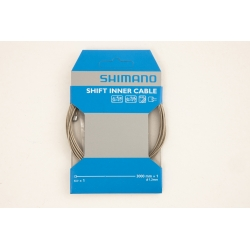 Road / MTB tandem steel gear inner wire, 1.2 x 3000 mm by Shimano