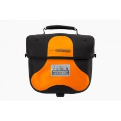 Brompton Mini Ortlieb bag - Orange - with frame and strap