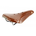 Brooks B17 Titanium Men's Saddle - Honey