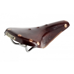 Brooks B17 Titanium Men's Saddle - Brown