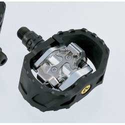 Shimano M424 SPD pedals - pop-up mechanism