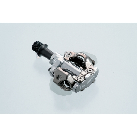 Shimano PD-M540 MTB SPD pedals - two sided mechanism, silver