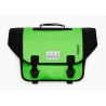 Brompton Ortlieb bag, Apple Green and Black - complete with frame and strap