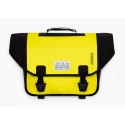 Brompton pre-2016 Ortlieb bag, Yellow and Black - complete with frame and strap