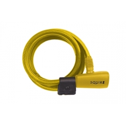 Squire cable lock - yellow