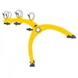 Saris Bones 3-bike boot rack - Yellow