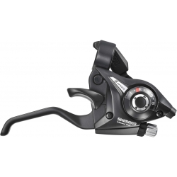 Shimano ST-EF51 Altus EZ fire plus STI 7-speed set, 2-finger lever, black