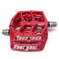 Hope F20 pedals - Pair - Red