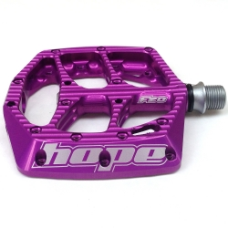 Hope F20 pedals - Pair - Purple