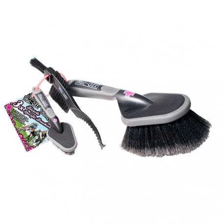 Muc-Off 3 Brush Set