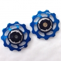 Hope Jockey Wheels (pair) - Blue