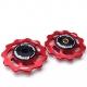 Hope Jockey Wheels (pair) - Red