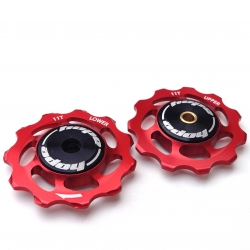 Hope Jockey Wheels (pair) - Red