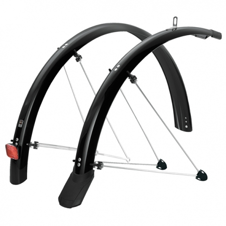 SKS 35mm Fixed Mudguard fits tyre size 700x32-35c Black