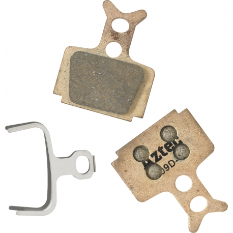 Sintered disc brake pads for Formula Oro Mega by Aztec