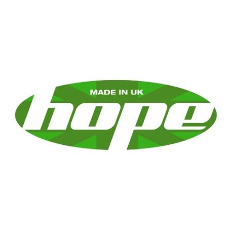 Hope Front Wheel - Stans Alpha - Mono 32H Black
