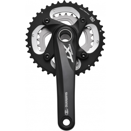 Shimano FC-M785 10-speed XT chainset HollowTech II - 38 / 26T 175 mm, black