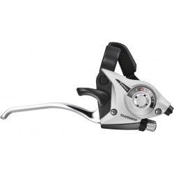 Shimano ST-EF51 Altus EZ fire plus STI 7-speed set, 2-finger lever, silver