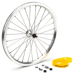 Brompton standard 16 inch front bicycle wheel