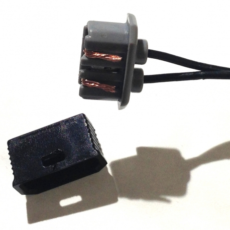 Tab connector set for Shimano front dynamo hub