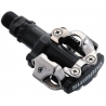 Shimano PD-M520 MTB SPD pedals - two sided mechanism, black