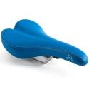 Brompton standard rail saddle - Blue, excluding Pentaclip